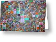 Chaos Bound Greeting Card by Catherine Nichols