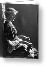 Charlotte Perkins Gilman Greeting Card by Granger