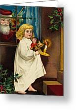 Christmas Card Greeting Card by American School