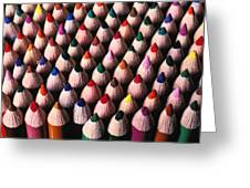 Colored Pencils Greeting Card by Garry Gay