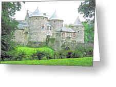 Corroy Le Chateau  Gembloux Belgium Greeting Card by Joseph Hendrix