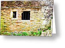 Derelict Building Greeting Card by Tom Gowanlock