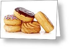 Donuts Greeting Card by Elena Elisseeva