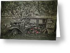Driven To Find Love Greeting Card by Jerry Cordeiro