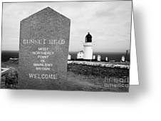 Dunnet Head Most Northerly Point Of Mainland Britain Scotland Uk Greeting Card by Joe Fox