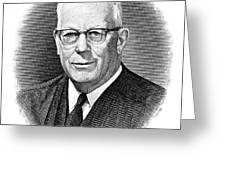 Earl Warren (1891-1974) Greeting Card by Granger