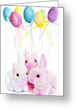 Easter Bunny Toys Greeting Card by Elena Elisseeva