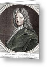 Edmond Halley, English Polymath Greeting Card by Science Source