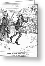 Election Cartoon, 1884 Greeting Card by Granger