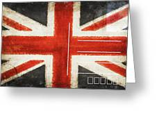 England Flag Postcard Greeting Card by Setsiri Silapasuwanchai