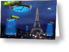 European Time Traveler Greeting Card by Mike McGlothlen