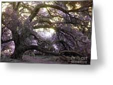 Fairy Tree Greeting Card by Robert Ball