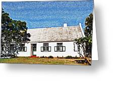 Farm House Greeting Card by Werner Lehmann