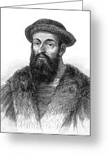 Ferdinand Magellan Greeting Card by Granger
