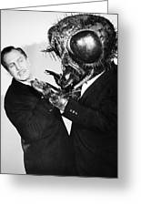 Film: The Fly, 1958 Greeting Card by Granger