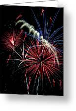 Fireworks Greeting Card by Farol Tomson