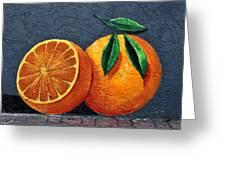 Florida Orange Greeting Card by David Lee Thompson