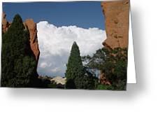 Garden Of The Gods Colorado Greeting Card by Elizabeth Sullivan