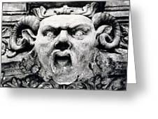 Gargoyle Greeting Card by Simon Marsden