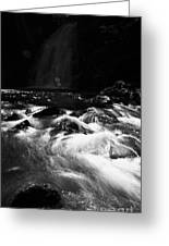 Gleno Or Glenoe Waterfall County Antrim Northern Ireland Greeting Card by Joe Fox