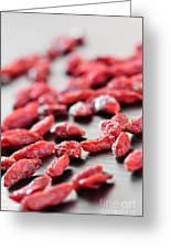 Goji Berries Greeting Card by Elena Elisseeva