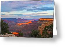 Grand Canyon Grand Sky Greeting Card by Heidi Smith
