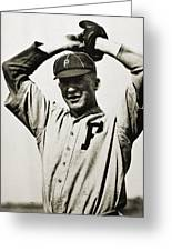 Grover Cleveland Alexander Greeting Card by Granger