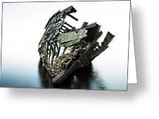 Harvey Neelon Shipwreck So They Say... Greeting Card by Jakub Sisak