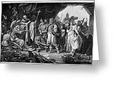 Henry I (876-936) Greeting Card by Granger