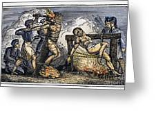 Heresy: Torture, C1550 Greeting Card by Granger
