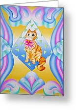 Hi There Greeting Card by Virginia Stuart