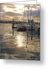 Hiolani II Greeting Card by Randy Sprout