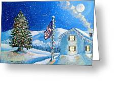 Home For The Holidays Greeting Card by Shana Rowe