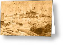 Hurricane, 1815 Greeting Card by Science Source
