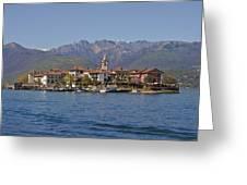 Isola Dei Pescatori Greeting Card by Joana Kruse