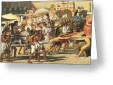 Israel In Egypt Greeting Card by Sir Edward John Poynter