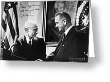 J. Robert Oppenheimer Greeting Card by Granger