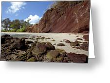 Koki Beach Greeting Card by Jenna Szerlag