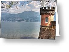 Lago Di Como Greeting Card by Joana Kruse