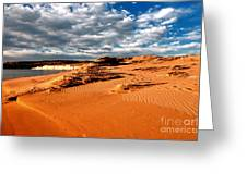 Lake Powell Morning Clouds Greeting Card by Thomas R Fletcher