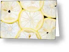 Lemon Greeting Card by Andrei Orlov