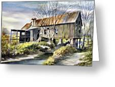 Levy Deas Grist Mill Greeting Card by Jack Bolin