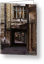 Light At The End Of The Tunnel Greeting Card by Elena Nosyreva