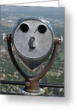 Look Into My Eyes Greeting Card by Ernie Echols