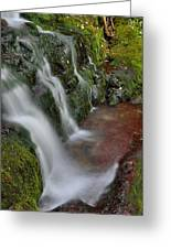 Lower Buttermilk Falls Greeting Card by Stephen  Vecchiotti