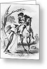 Lydia Darragh, American Patriot Greeting Card by Photo Researchers