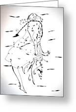 Malipenga Dance - Malawi Greeting Card by Gloria Ssali