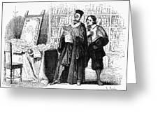 Manzoni: I Promessi Sposi Greeting Card by Granger