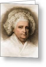 Martha Washington, American Patriot Greeting Card by Photo Researchers