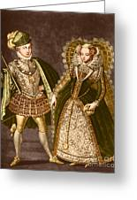 Mary, Queen Of Scots Greeting Card by Omikron